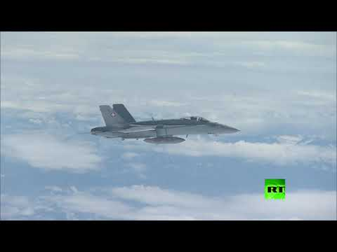 مقاتلات سويسرية تحلق قرب طائرة الوفد المرافق لبوتين  - نشر قبل 3 ساعة