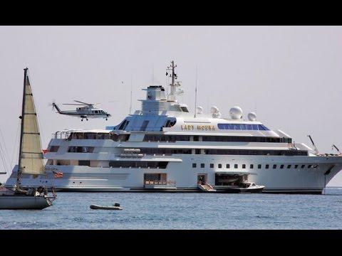 Lady Moura 210 000 000 Mega Yacht 105 M