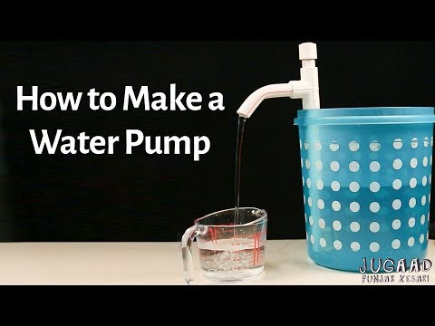 How to Make a Water Pump