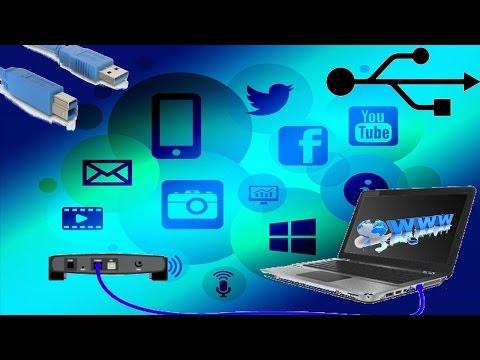 Como Conectarse A Internet Por Cable USB (Windows XP, Vista, 7, 8 Y 10)