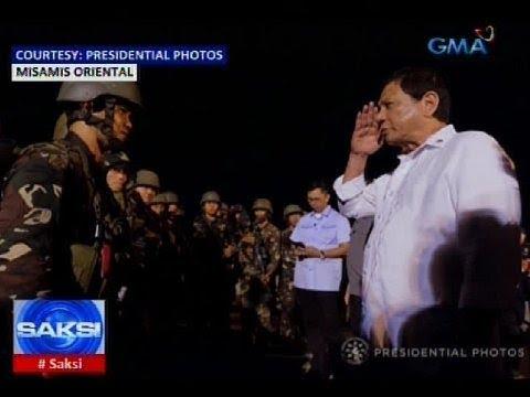 Mga sundalong nakipaglaban sa Maute-ISIS, binigyang-pagkilala ni Pangulong Duterte