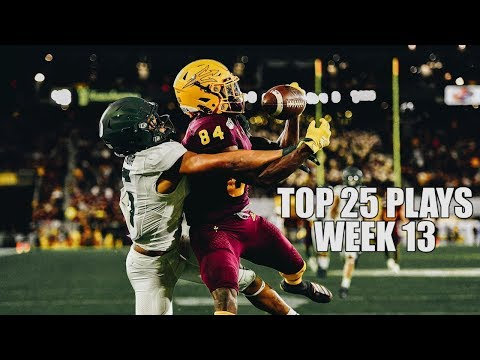 Top 25 Plays From Week 13 Of The 2019 College Football Season ᴴᴰ
