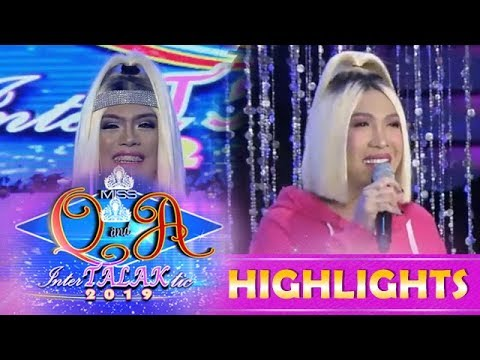 It's Showtime Miss Q and A: Miss Q & A candidate copies Vice Ganda's hairstyle