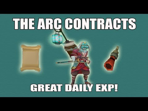 [Runescape 3] The Arc Contracts Guide | Amazing Extra Daily Exp in Uncharted Isles!