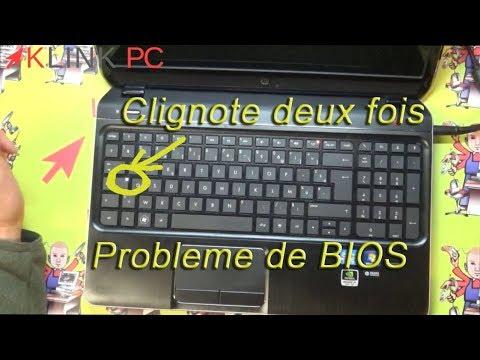 Comment réparer un probleme de bios sur un PC Hp qui ne démarre plus. ?