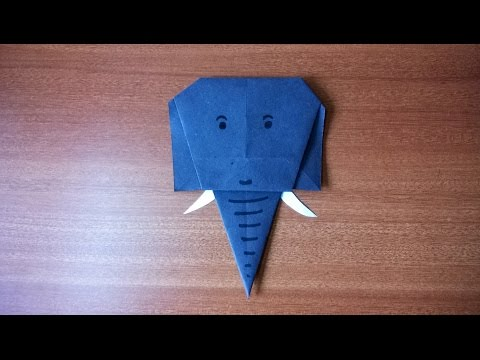 How to Make a Simple Paper Elephant  | Step by Step Guide to Make a Paper Origami Elephant