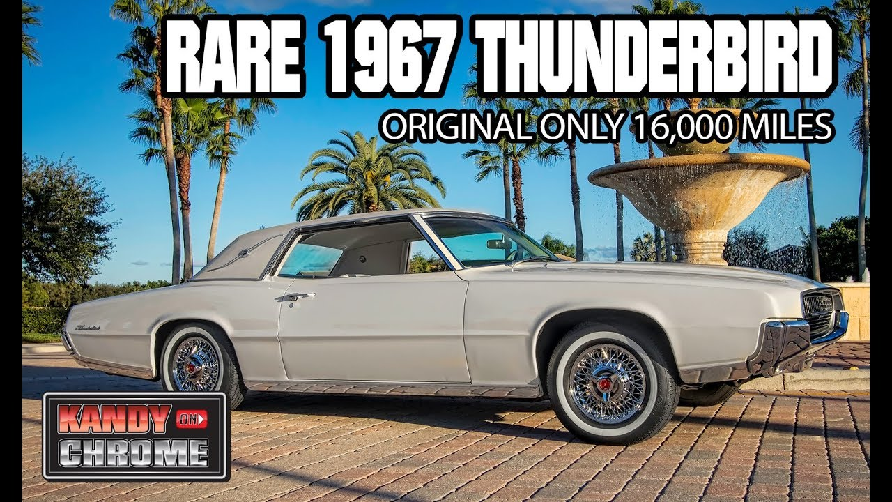 kandyonchrome rare 1967 ford thunderbird all original with only