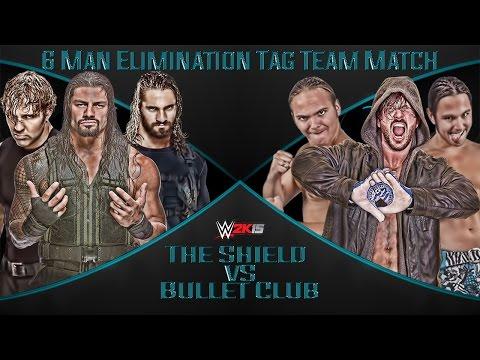 The Shield vs The Bullet Club- WWE 2K15