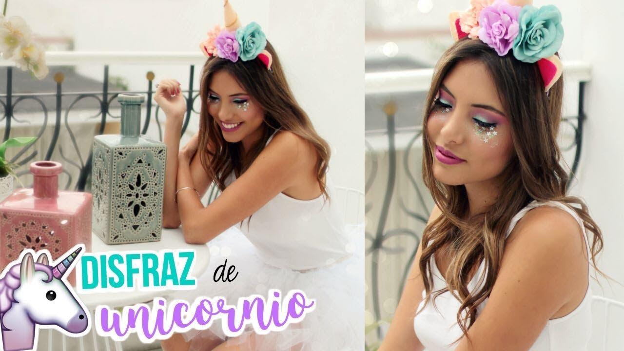 Diy Disfraz Completo De Unicornio Valeria Basurco Youtube
