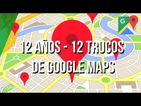 12 trucos y Huevos de Pascua para Google Maps