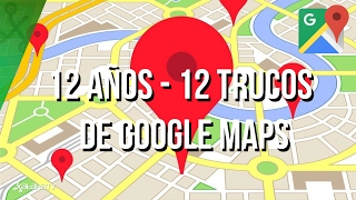 12 trucos y Huevos de Pascua para Google Maps Free HD Video