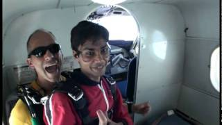 Sky Diving: free fall and Parachute jump  - Yash Desai at Montreal, Canada