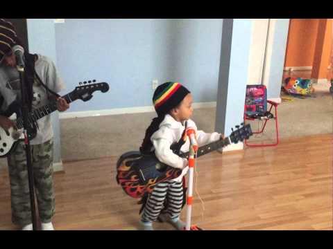 Three Little Birds by Bob Marley sang by Myles Kingston age 2 Instagram: @myles_kingston_sadler