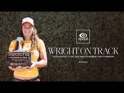 Surf video of Tyler Wright Winning Trestles