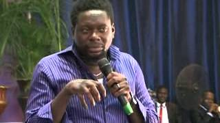 Prophet Sampson Amoateng host Klint D Drunk at HOM