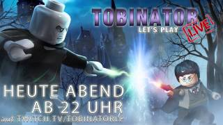 TOBINATOR LIVE mit LEGO HARRY POTTER (Live-LP) «» LIVE STREAM «» AB 22:30 UHR