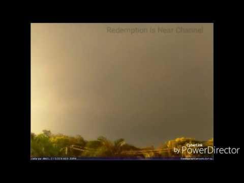 CELESTIAL NIBIRU PLANETARY X BODY/SUN CAPTURED IN AUSTRALIA! (Camera Faces NW!!)