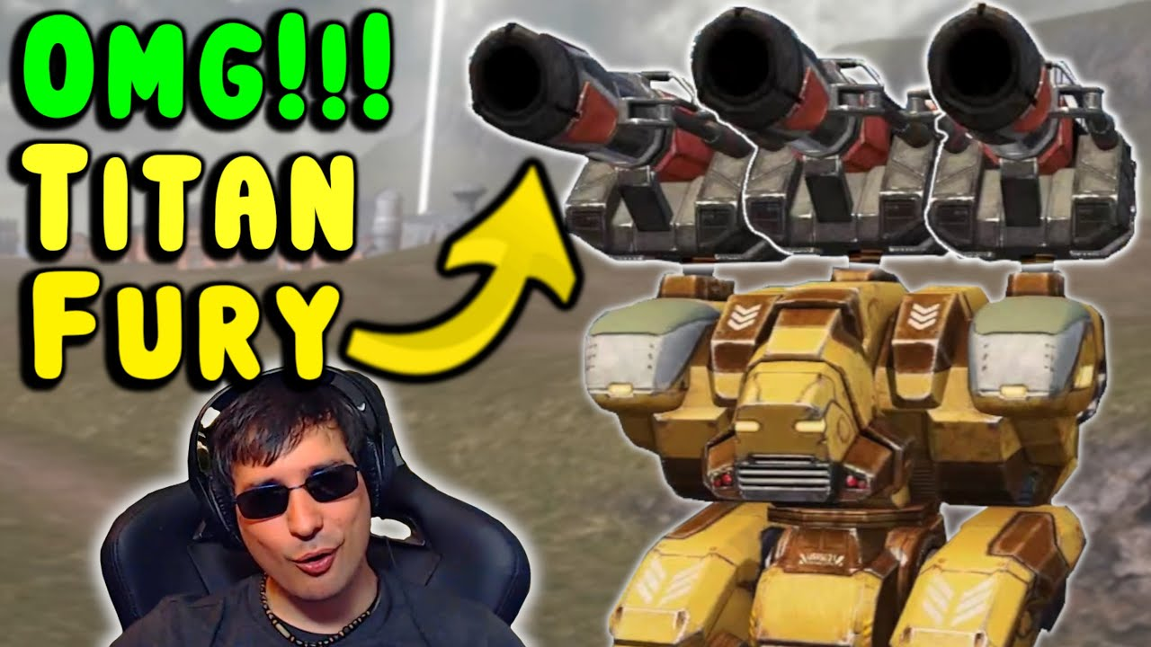 Download The TITAN FURY! War Robots TSAR Gameplay on Fury - WR Funny Skirmish
