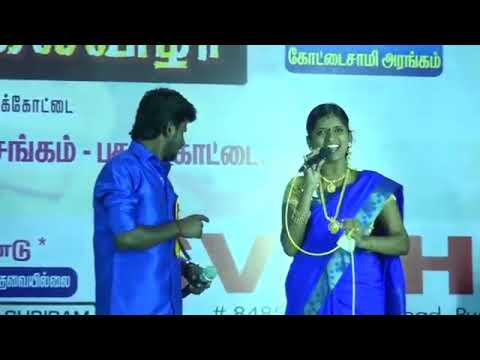 Vijay TV Super Singer 6 Senthil ganesh and Rajalakshmi village kuthu song