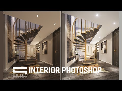 Interior Post Production - Photoshop Architecture