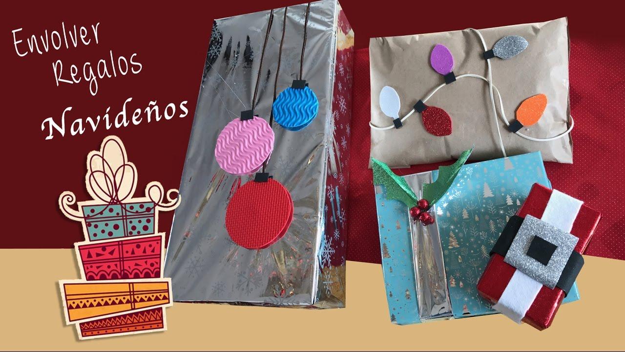 Envolviendo regalos navide os ideas para envolver - Ideas para envolver regalos navidenos ...