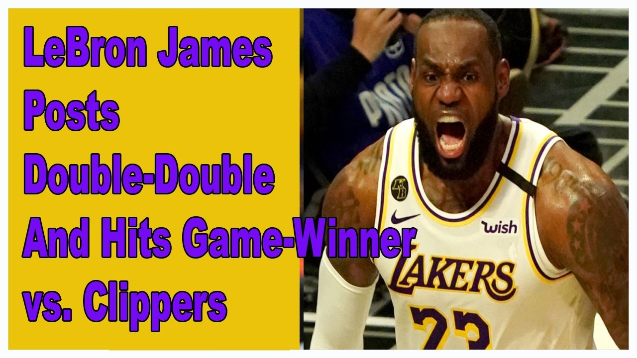 Lakers vs. Clippers takeaways: LeBron leads crunch time win in ...