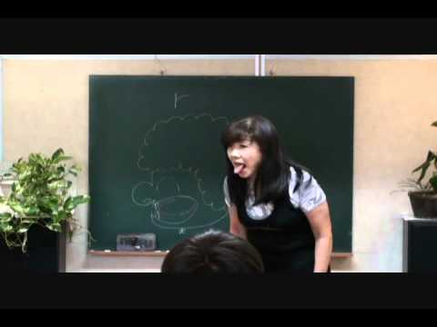 R  と L  口の形編 (絶対できる発音方法)
