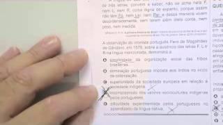 CHROMOS GABARITO ENEM 2015 - Axelle - História - Questão 06 - Prova Azul