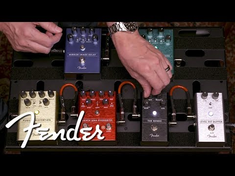 Exploring The Signal Chain   Effect Pedals   Fender