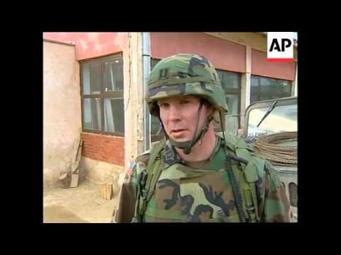 KOSOVO: EXCHANGE OF FIRE