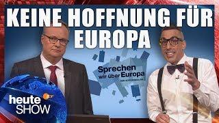 Die Zukunft der EU: Merkel lässt Macron zappeln | heute-show vom 11.05.2018