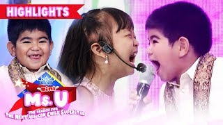 Yorme shows his acting skills with Mini Ms U candidate | It's Showtime Mini Miss U