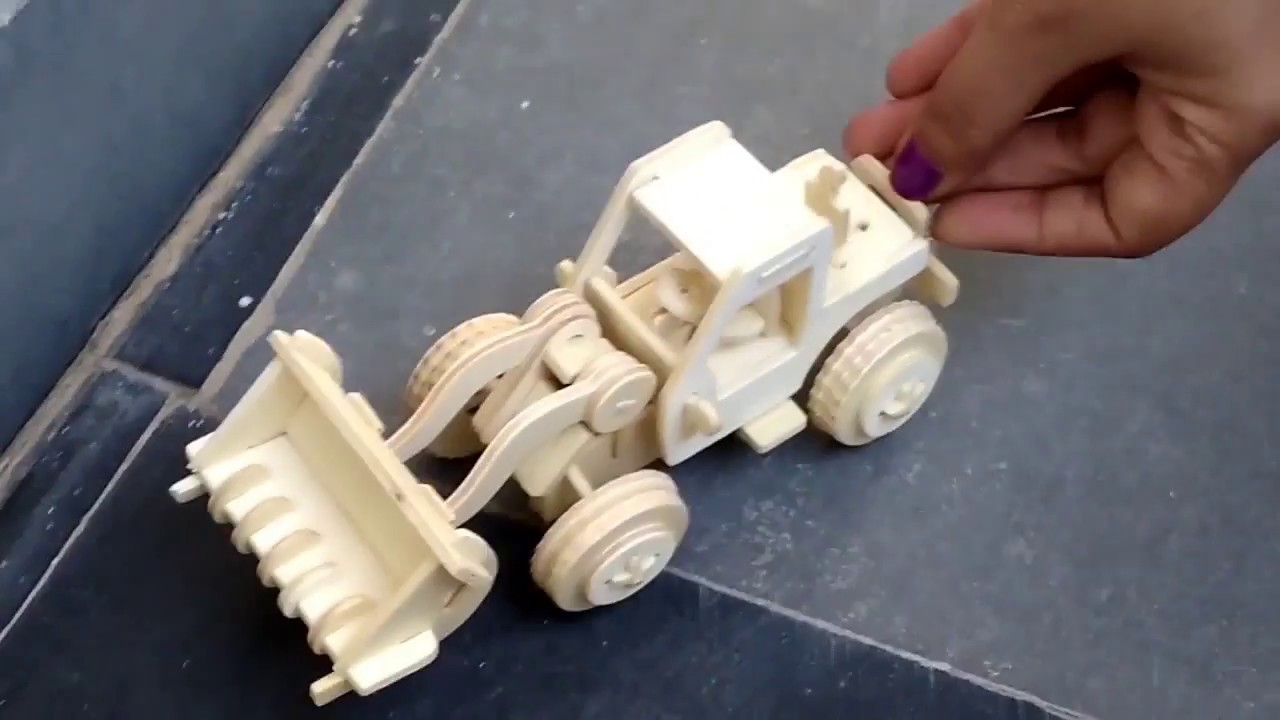how to make wooden bulldozers for kids toys how to build at home