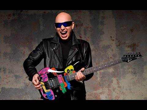 Joe Satriani talks about his Ibanez JS25ART Limited Edition Guitars