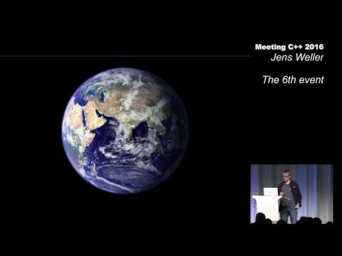 Jens Weller - the 6th event - Secret Lightning Talks - Meeting C++ 2016