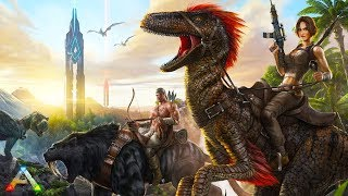 Gambar cover Ark Survival Evolved 100x pvp server DAY -4  All dinos almost maxed