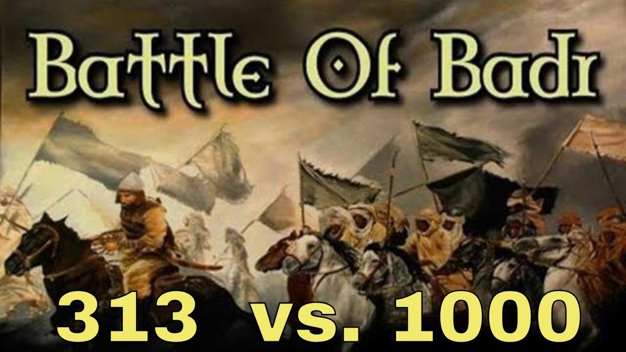 Islamic War - Battle of Badar also known as Gazwa-e-Badar   Urdu / Hindi    PYSF/PYSWO