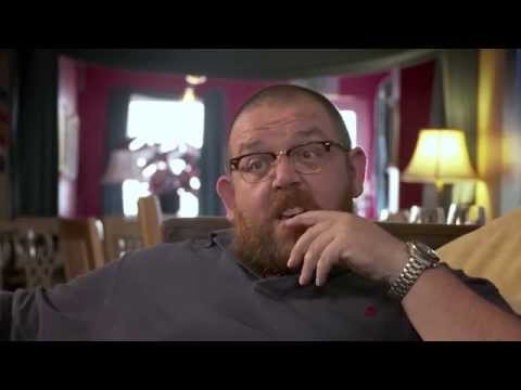 Actor and comedian Nick Frost tells us about his new book.