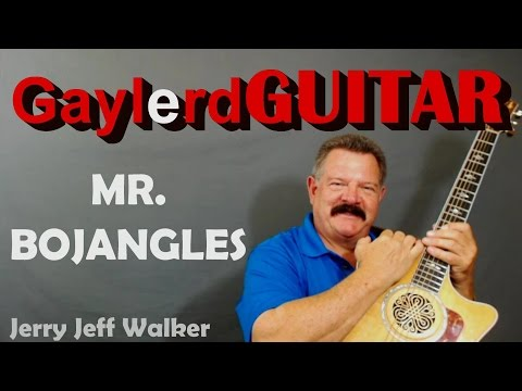 """Mr Bojangles"" guitar lessons - Jerry Jeff Walker Nitty Gritty DIrt Band Learn to play the riffs"