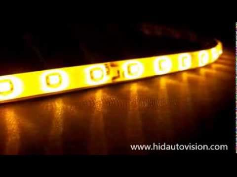 Yellowamber waterproof led strip by hid auto vision youtube yellowamber waterproof led strip by hid auto vision aloadofball Image collections