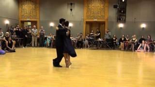 """Hernan Rodriguez y Florencia Labiano. """"DT2015"""". 1 baile."""