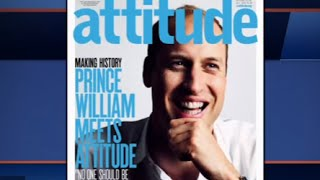Prince William on Cover of Gay Magazine Attitude | The Skinny