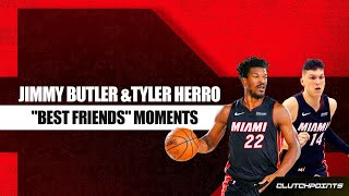 "Jimmy Butler And Tyler Herro ""BFF"" Moments"