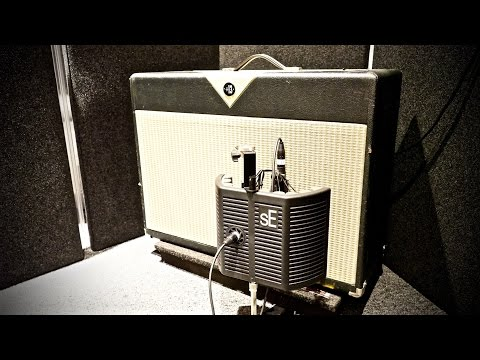 SE Electronics guitaRF Reflexion Filter, demo by Pete Thorn