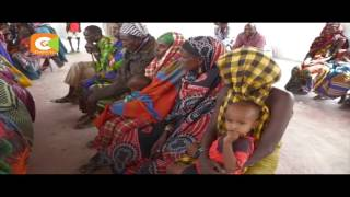 First Lady visits famine-stricken families in Marsabit