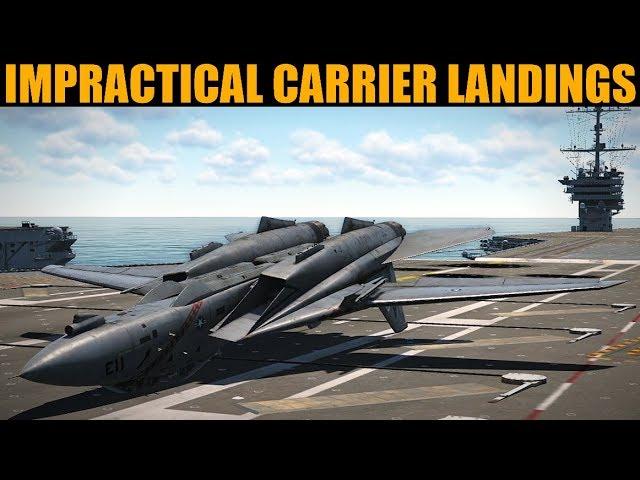 Impractical Carrier Landings #2   DCS WORLD