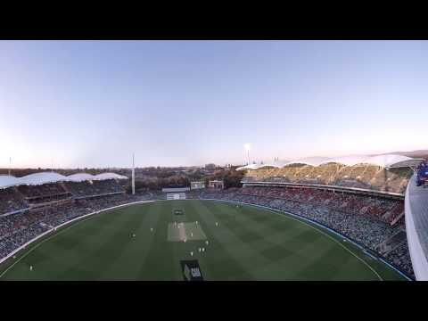 360: Adelaide Oval roof climb