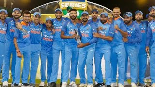 Watch Team India Winning moment win 3rd odi with series against Australia