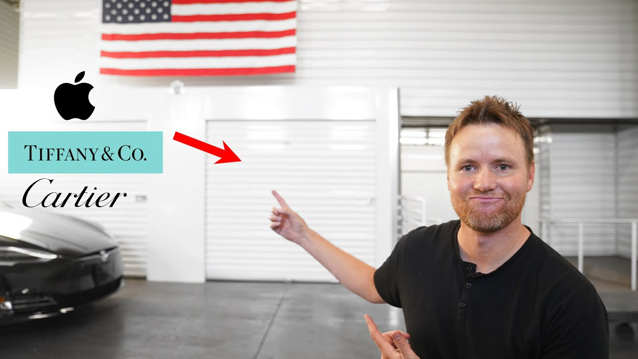 What's inside a High End Storage Locker?