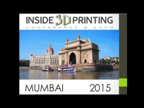 Inside 3D Printing Mumbai Expo and Conference 2015